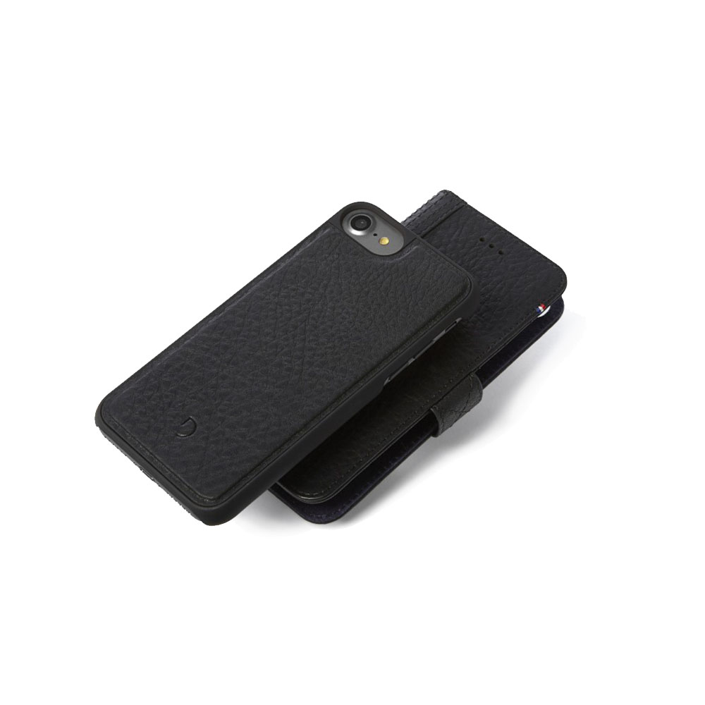 Afbeelding van Decoded 2 in 1 Wallet Case iPhone 8 / 7 6(s) Zwart