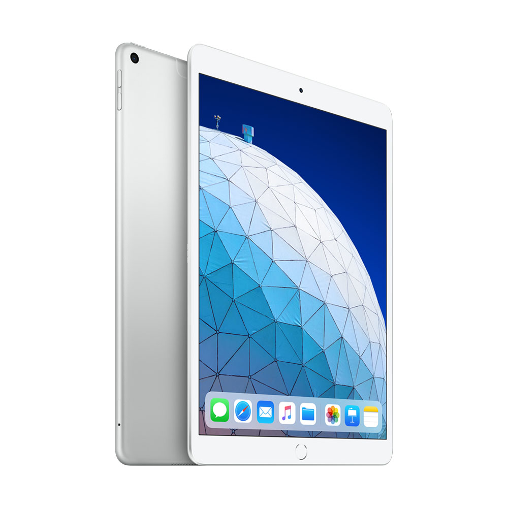 Afbeelding van Apple 10,5 inch iPad Air 2019 (256GB / Wi Fi + Cellular) Zilver MV0P2NF/A