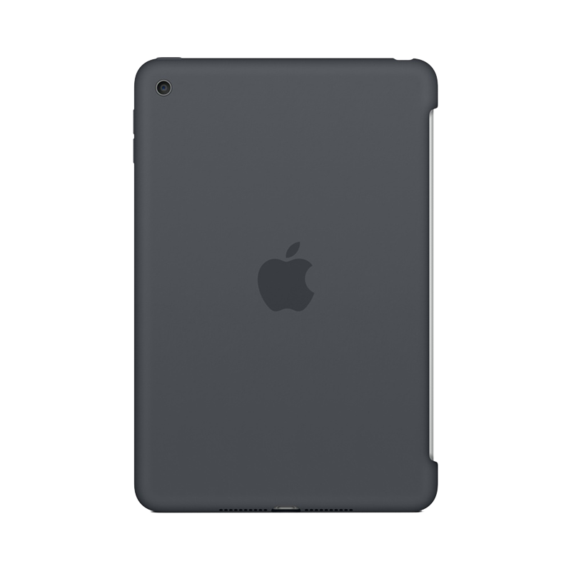 Apple iPad Mini 4 Siliconenhoes Donkergrijs