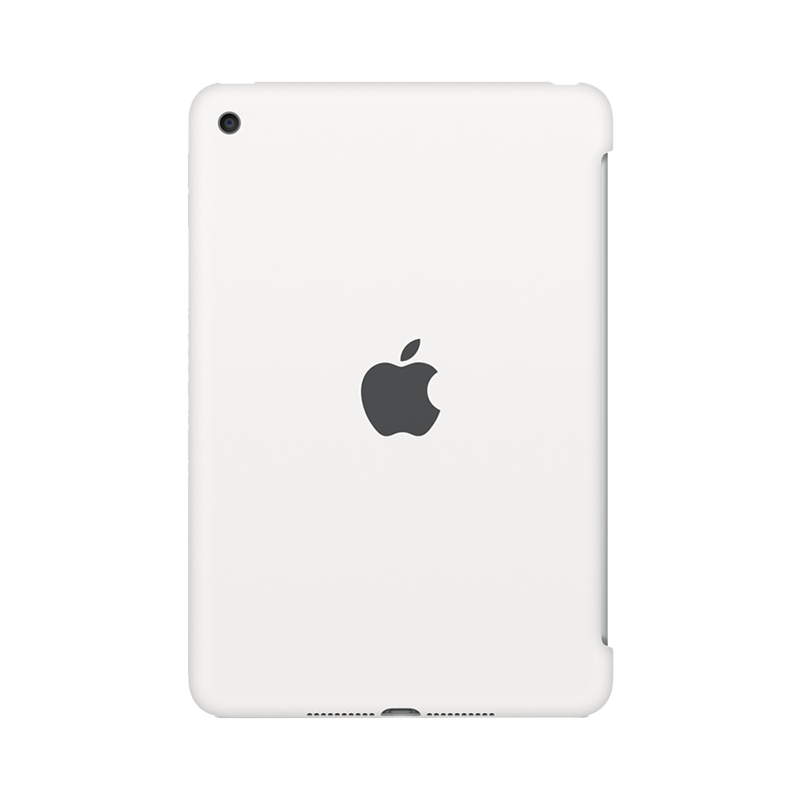 Apple iPad Mini 4 Siliconenhoes Wit