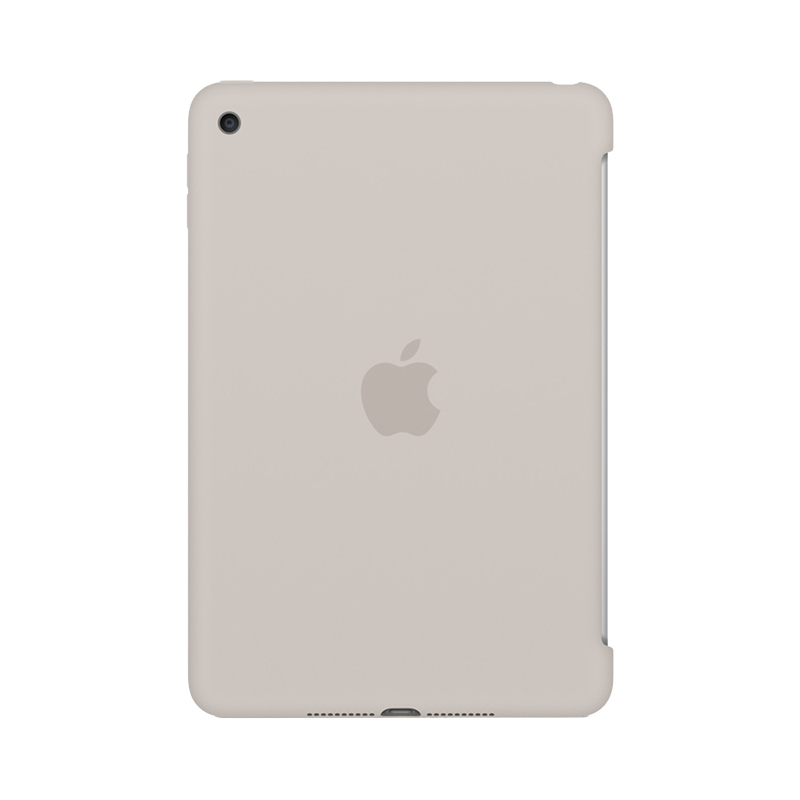 Apple iPad Mini 4 Siliconenhoes Grijs