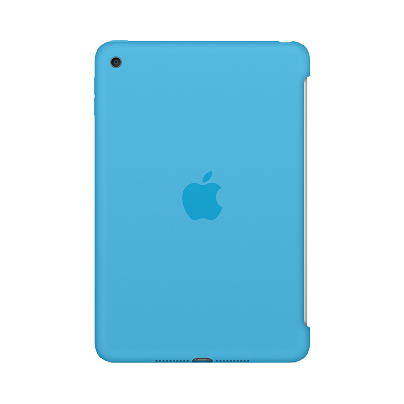 Apple iPad Mini 4 Siliconenhoes Blauw