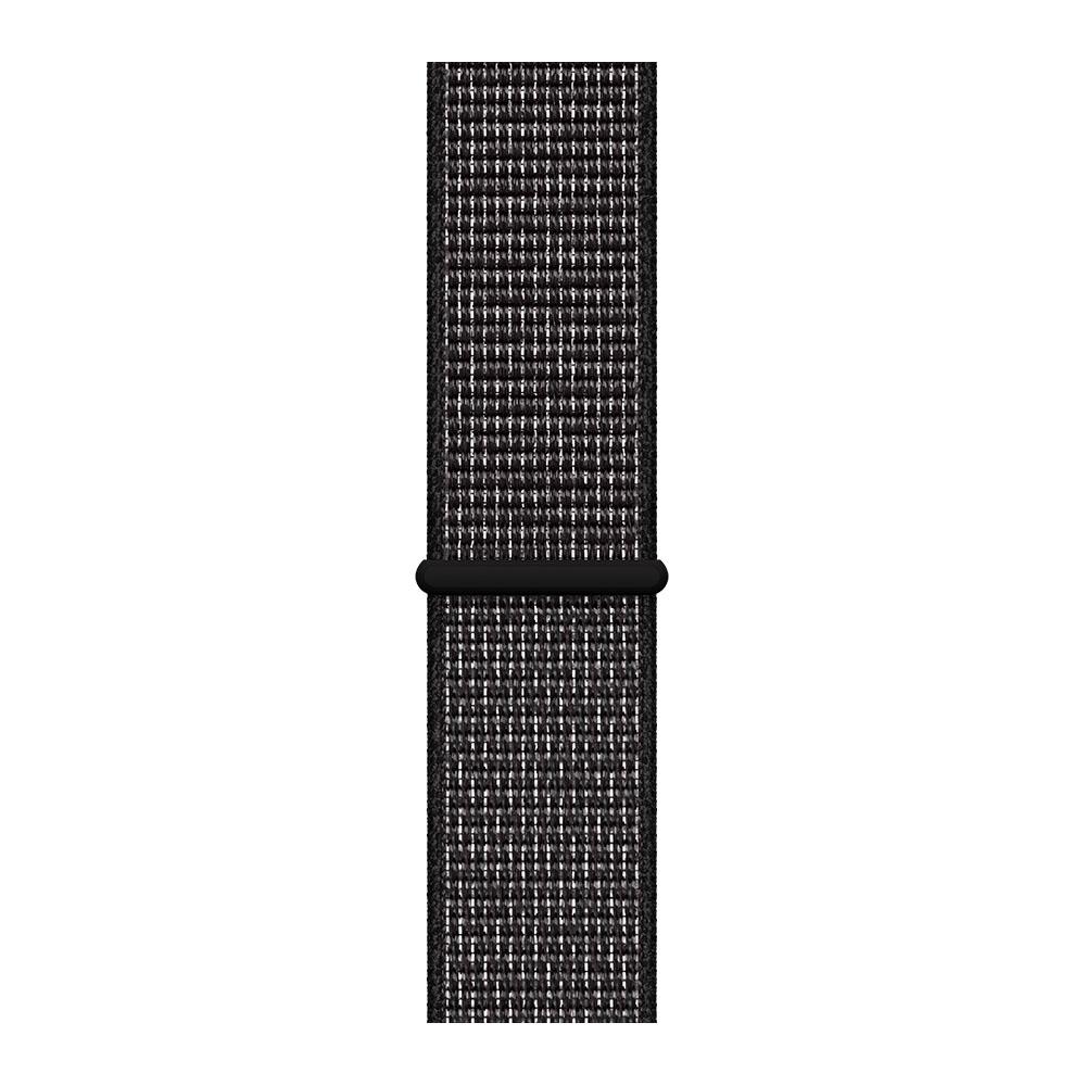 Apple Watch Bandje 38mm 40mm Zwart geweven sportbandje van Nike