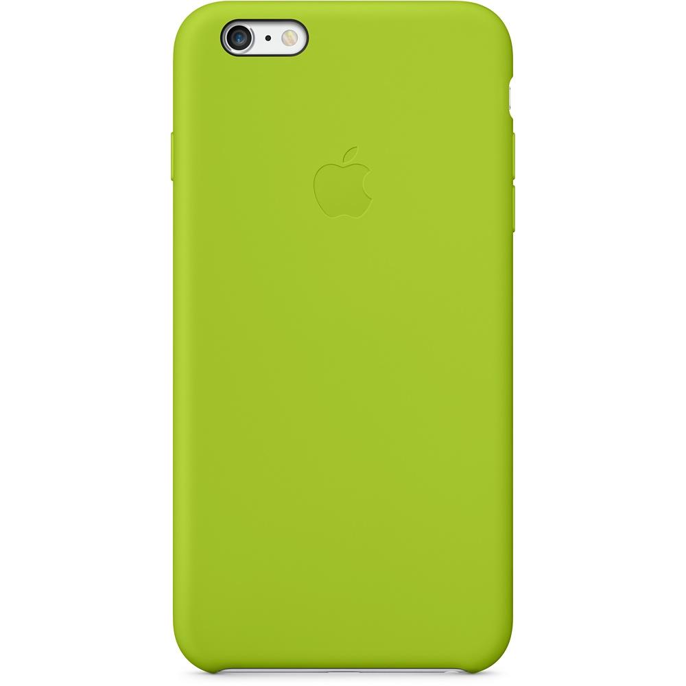 iPhone 6 Plus Siliconen cover groen