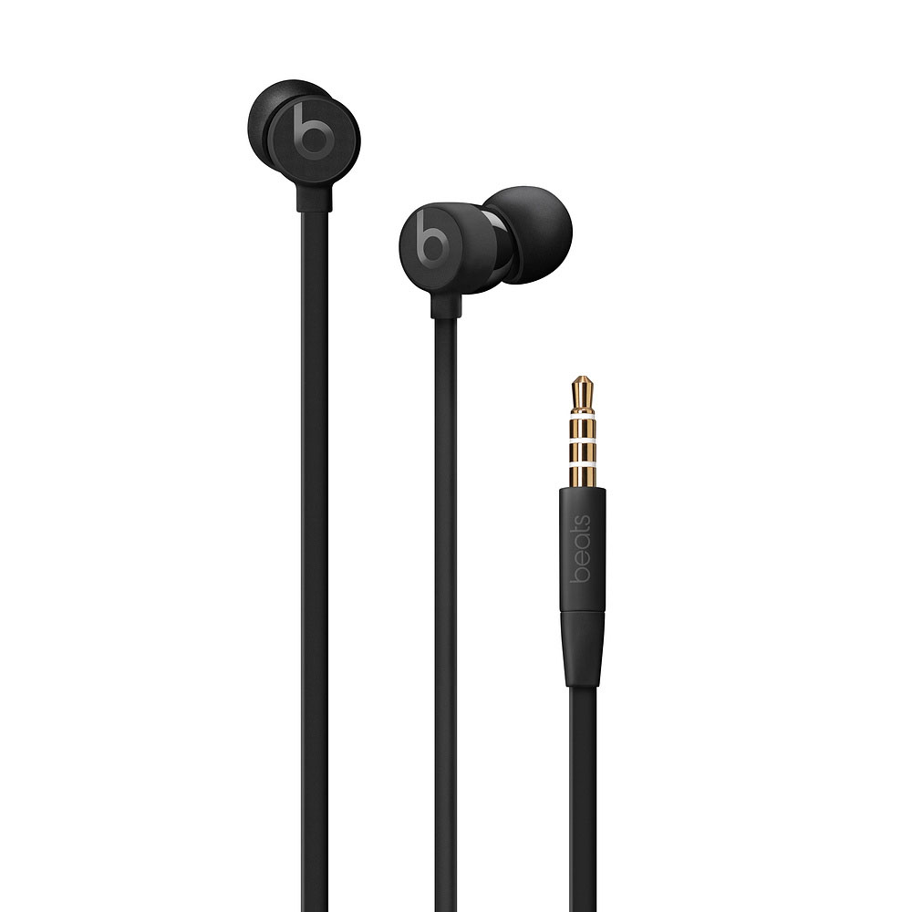 Beats urBeats3 Earphones Black mit 3.5 mm Plug