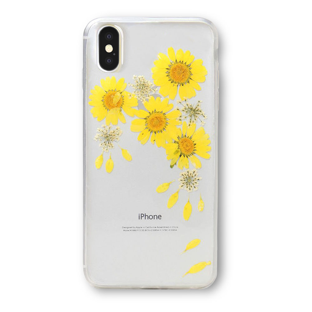 Recover iPhone Xs Max - Floral Yellow